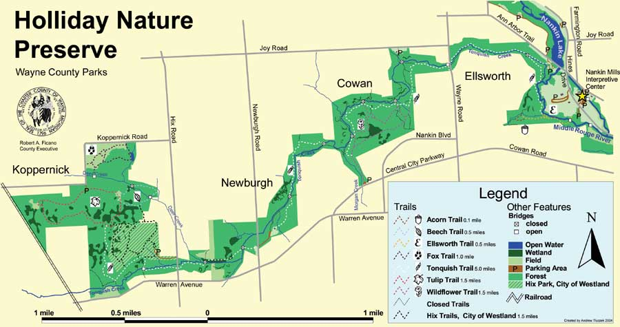 Holliday Nature Preserve Association home page